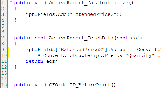 GrapeCity ActiveReports _Develop Controls_Develop Controls