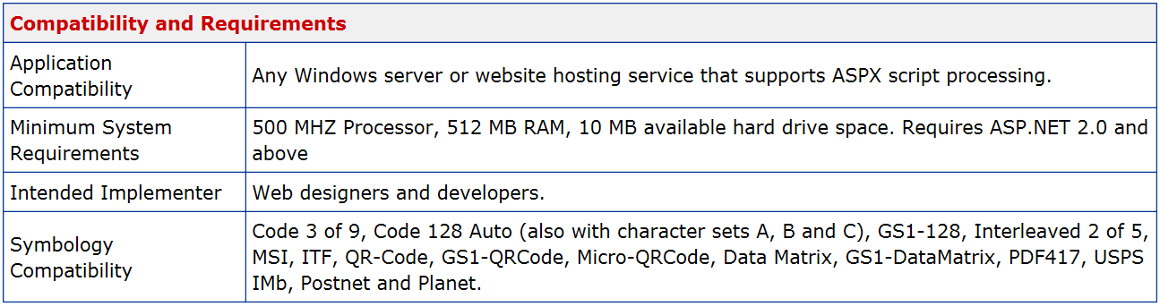 IDAutomation ASPX Barcode Generator Script_Bar