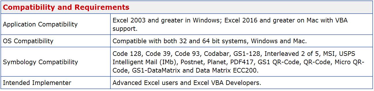 IDAutomation Excel Native Generator_Bar Code_Translation BarCode
